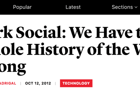 dark social history