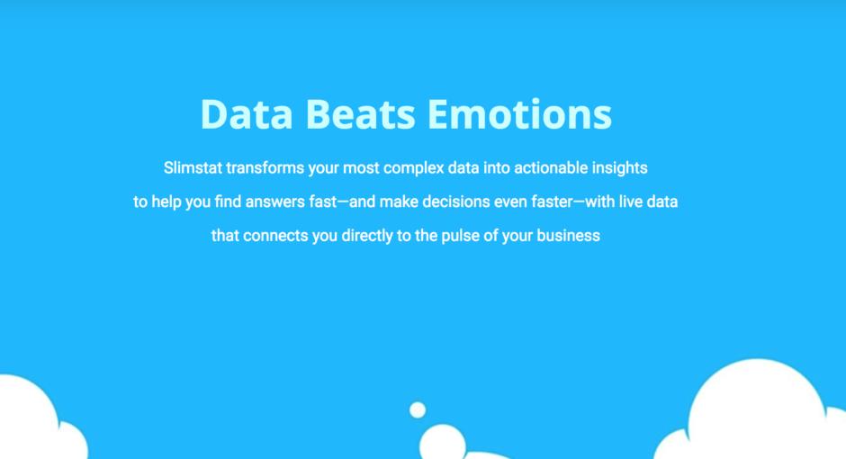 data beats emotions