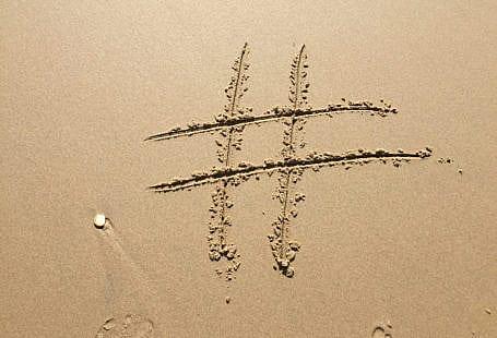 hashtag sand