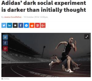adidas dark social