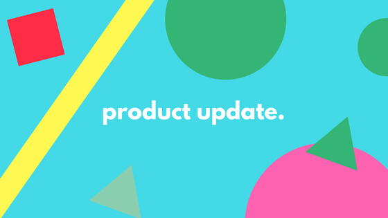 product update. (4)