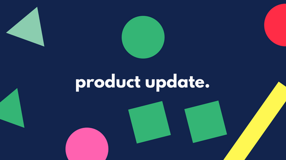product update
