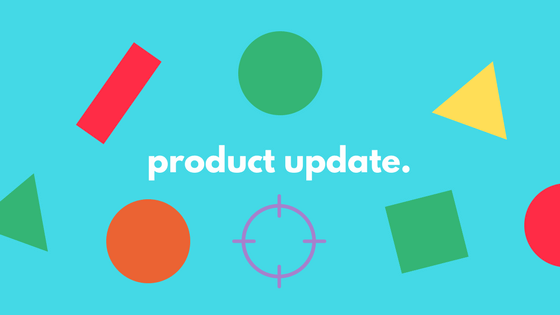 product update.