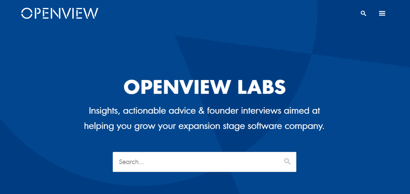 openview labs saas blog